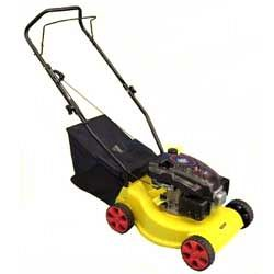 YGLM16PP-DB350, 41cm, Plastic Deck, Hand Push, 99cc, Four Wheel Adjustment
